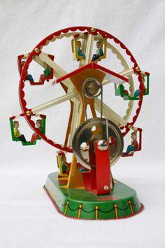 noria_vapor_ NacionalidadAlemania FabricanteWILESCO MaterialesHojalata litografiada MecanismoTracción con motor de vapor