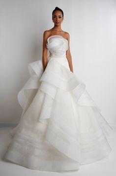 Rafael Cennamo White Couture Spring/Summer 2015 Collection - Rafael Cennamo - Wedding Style Magazine