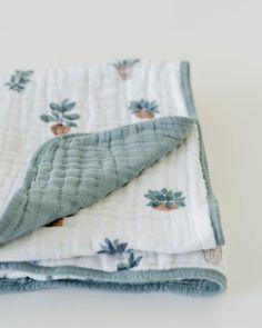 Cotton Muslin Quilt - Prickle Pots