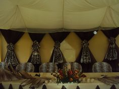 Wazzy Thoughts: The latest in African Themed Weddings- Part 2: Wedding Reception