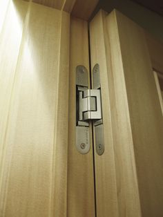 Tectus Invisible Hinges From Simonswerk. For Library Door
