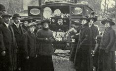 Old London funeral 1800s