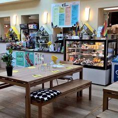 Cafe Köket at Helsinki Senate Square. It's a little bit hidden but worth visiting. Nice atmosphere and practical showcase of Finnish design. #cafeköket #coffee #Helsinki #helsinkisenatesquare #marimekko #arabia #kahvila #finnishdesign