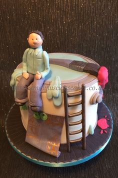 DIY enthusiast cake