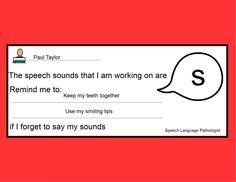 Speech Sound Reminders « Adventures in Speech Pathology
