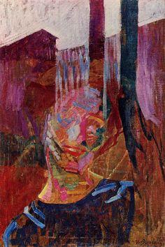 Scomposizione di testa di donna (1911) Umberto Boccioni Umberto Boccioni, Italian Pronunciation, Italian Futurism, Reggio Calabria, Edouard Vuillard, Italian Painters, Italian Art, Public Art, Art Museum