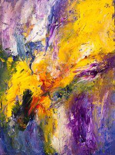 "Saatchi Art Artist Rafał Olszewski; Painting, ""Flower Power"" #art"