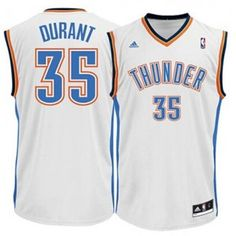 Mens Oklahoma City Thunder Kevin Durant Number 35 Jersey White Swingman Home Jersey http://www.supernbajerseys.com/mens-oklahoma-city-thunder-kevin-durant-number-35-jersey-white-swingman-home-jersey.html