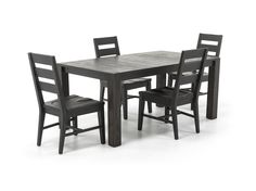Easton 5 Pc. Dining Set   This Rustic Transitional Design Makes This Set  The Perfect Dining Solution For A Breakfast Or Dining Area.