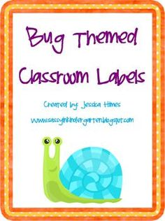 These bug themed classroom labels are fun and cute!Labels include: whiteboard, trash, clock, door, window, sink, desk, chair, schedule, trash, ...