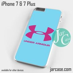 under armour iphone 7 case. under armour light blue phone case for iphone 7 and plus iphone r