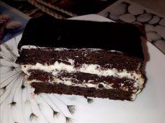 Csokis-tejfölös Süti receptje Szabina | által Craftlog Torte Cake, Tiramisu, Food And Drink, Sweets, Snacks, Chocolate, Ethnic Recipes, Desserts, Pastries