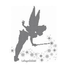 Cross stitch pattern Tinker Bell  Peter Pan di LeRayonDeSoleil