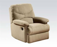 online shopping for eshion Wall Hugger Microfiber Recliner Adjustable Chair Living Room, Multiple Colors (Light Brown) from top store. See new offer for eshion Wall Hugger Microfiber Recliner Adjustable Chair Living Room, Multiple Colors (Light Brown) Camper Furniture, Cool Furniture, Brown Furniture, Furniture Chairs, Furniture Ideas, Furniture Shopping, Sofa Ideas, Living Room Chairs, Living Room Furniture