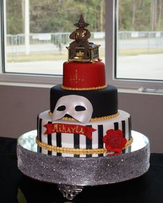 my daughters sweet 16 cake.  melissa's specialty cakes, long beach, ms