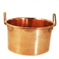 Copper 7 3/4″ x 11 3/4″ stockpot, French, mid-19th century (III.239)