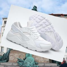 Nike Air Huarache 2015 Tutto Bianco Donna Scarpe,Latest trainers arrive - order from us with good price.