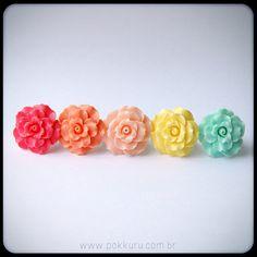 anel flor grande - pokkuru - doceria de bijoux