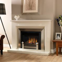 Valor Blakely Landscape Inset Gas Fire - Class 1 Chimney - Gas Fires - Gas Fires - Fires - Fireplaces Are Us