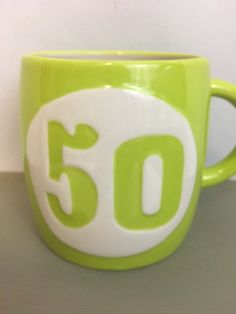 50th Birthday Coffee Mug Hallmark 16 Ounces Green I'm Not Old I'm EPIC Gift  Tea #Hallmark