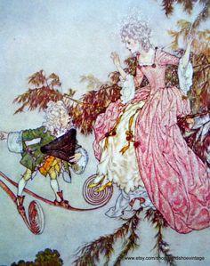 Princess and Elf Edmund DULAC