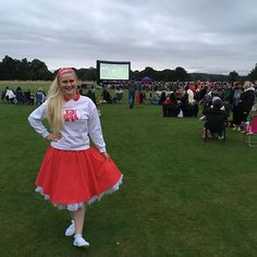 Another Summer night spent at an outdoor cinema this time grease at Belton house…