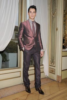 dapper #suit from #RobertoCavalli Men's A/W '13