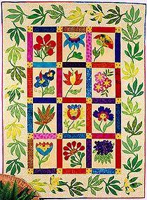 A Random Quilt: Tropical Whimsy