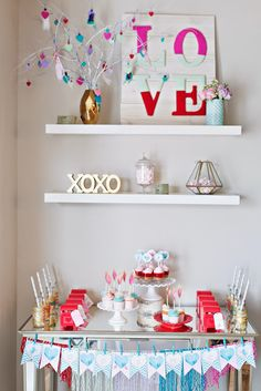 Designs by Kimberly Francom and Associates: Toddler Cupids Arrow Valentine Party