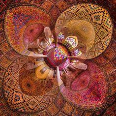 nasir ol-molk mosque shiraz iran