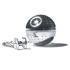 Death Star Tea Infuser   That's no moon. It's a stainless steel orb modeled after the onetime pride and joy of the Imperial fleet. We're still looking for the thermal exhaust port.  $20, Death Star Tea Infuser