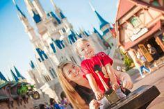 Disney's Magic Kingdom photo session