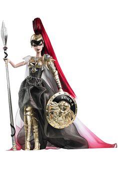 Barbie.  Atenea