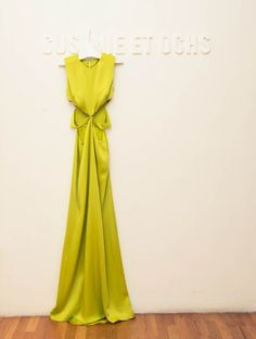 A little neon never hurt. www.thecoveteur.com/getting_cfda_ready_with_karlie_kloss_cushnie_et_ochs