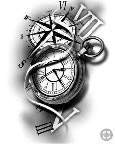 stunning eye-catching tattoo sketches design ideas Wagepon Ideas - We . - stunning eye-catching tattoo sketches design ideas Wagepon Ideas – When getting a tattoo, it& - Time Clock Tattoo, Clock Tattoo Sleeve, Tattoo Sleeve Designs, Tattoo Designs Men, Arm Tattoo, Body Art Tattoos, Sleeve Tattoos, Tattoo Time, Samoan Tattoo