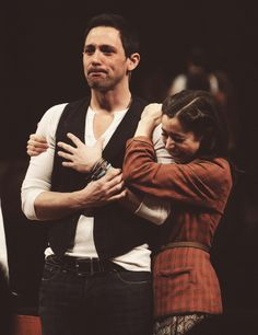 Steve Kazee's final performance at Once. This basically makes me want to burst into tears.