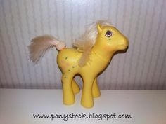 Rosedust G1 (Flutter Ponies) My Little Pony Vintage