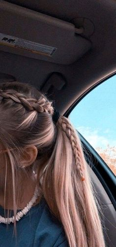 2019 Lindos Peinados con Trenzas – Fácil Paso a Paso 2019 Cute Hairstyles with Braids – Easy Step by Step More from my site Cute Little Girl Hairstyles Easy Medium Hair Styles, Curly Hair Styles, Hair Medium, Hair Plait Styles, Medium Long, Braided Ponytail Hairstyles, Prom Hairstyles, Volleyball Hairstyles, Cute School Hairstyles