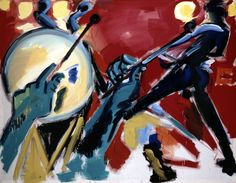 Rainer Fetting 'Drummer and Guitarist' 1979