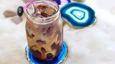 DIY Faux Agate Coasters | DIY Joy Projects and Crafts Ideas