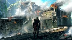 Fort Destruction from Assassin's Creed IV: Black Flag