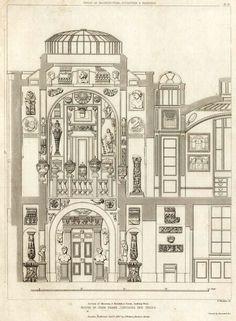 Section of the Museum inside Sir John Soane's House, London