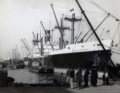 MARIEKERK N.V. Vereenigde Nederlandsche Scheepvaartmij., 's-Gravenhage Bouwwerf Bethlehem Fairfield Shipyard Inc. / 2426 Bouwjaar 1944  http://vervlogentijden.blogspot.nl/search?q=mariekerk