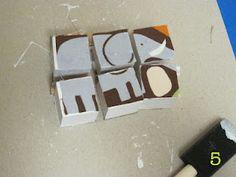 Mod Podged Blocks{Morena's Corner} | The CSI Project