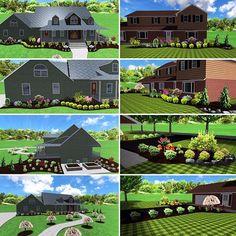 2 landscape designs completed this season.  #duncandesign #realtimelandscapearchitect #ideaspectrum #landscape #landscapedesign #eriepa #curbappeal #3ddesign #landscaping