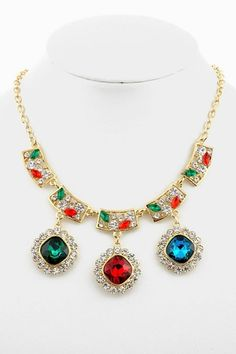 collier lariat collier plastron ras du cou collier par Paulafashion, $12.00