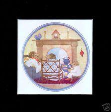 Margaret Tempest Vintage print 1951 Fuzzypeg goes to school hedgehog mounted Christening Cakes, Hedgehog Art, Illustration Art, Illustrations, Vintage Prints, Decorative Plates, School, Frame, Baptism Cakes