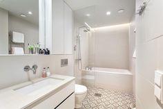 Kaunis vaalea kylpyhuone - Etuovi.com Sisustus
