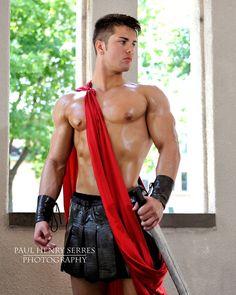 Sexy Roman Soldier ;) #Hunk