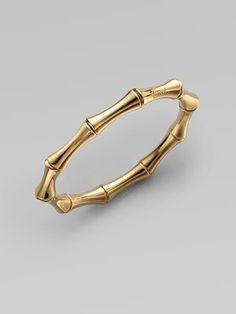 Bamboo Bangle by Gucci #Jewelry #Bangle #Gucci